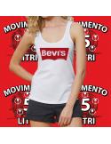 Canotta BEVI'S donna